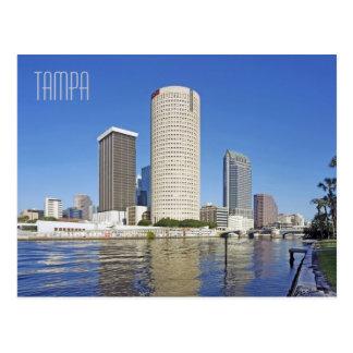 Cartão Postal Tampa Florida, cidade dos campeões