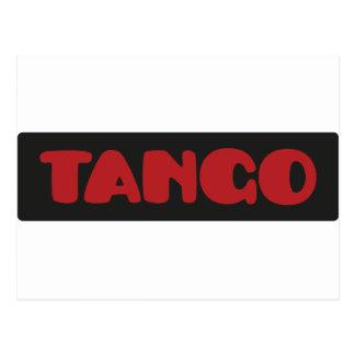 Cartão Postal Tango