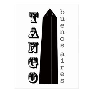 Cartão Postal Tango Buenos Aires!