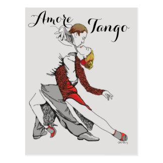Cartão Postal Tango de Amore