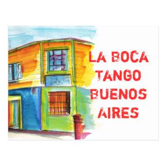 Cartão Postal Tango de Boca do La