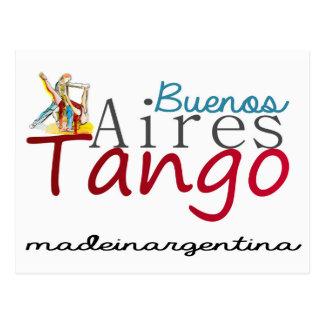 Cartão Postal Tango de Buenos Aires feito em Argentina