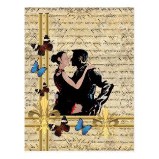 Cartão Postal Tango do vintage