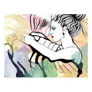 Cartão Postal Tango romance