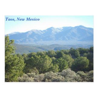 Cartão Postal Taos, New mexico