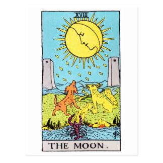 Cartão Postal tarot-lua
