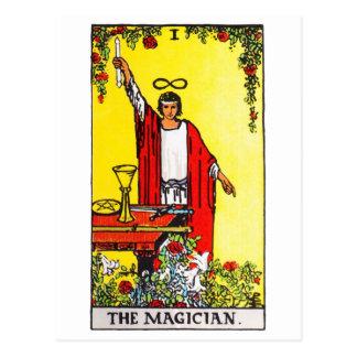 Cartão Postal tarot-mágico