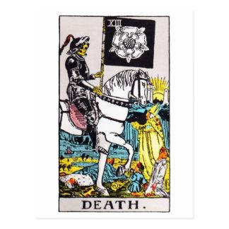 Cartão Postal tarot-morte