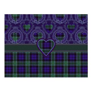 Cartão Postal Tartan do Scottish de Graham