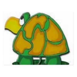 Cartão Postal tartaruga