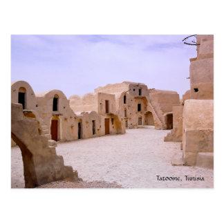 Cartão Postal Tatooine, Tunísia