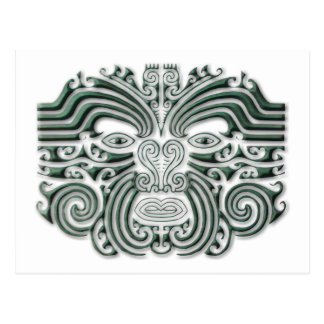 Cartão Postal Tatuagem-pedra de Maroi