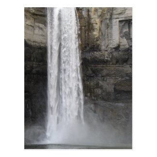 Cartão Postal Taughannock cai parque estadual