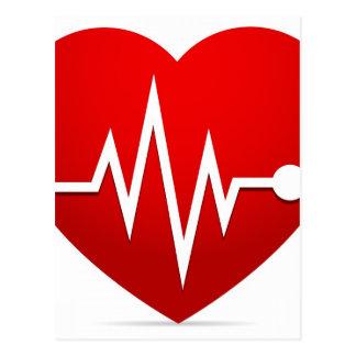 Cartão Postal Taxa do batimento cardíaco
