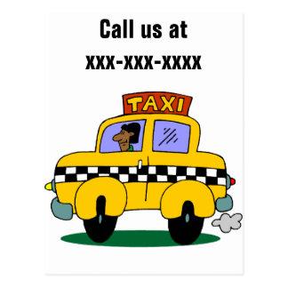 Cartão Postal Taxista