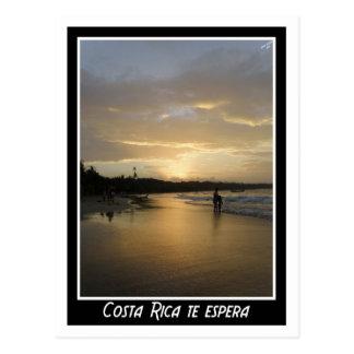 Cartão Postal Te espera de Costa Rica…