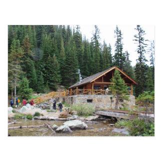 Cartão Postal Teahouse de Agnes do lago