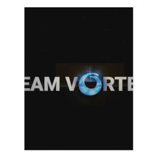 Cartão Postal TeamVortex