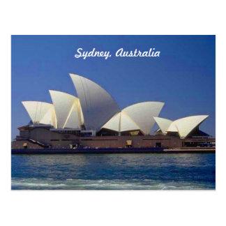 Cartão Postal Teatro da ópera de Sydney Austrália