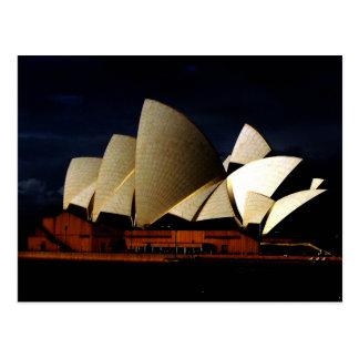 Cartão Postal Teatro da ópera no crepúsculo - fotografia SuzanRS