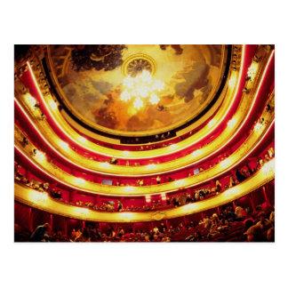 Cartão Postal Teatro de Comedie Francaise, Paris, France