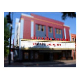 Cartão Postal Teatro de Geórgia