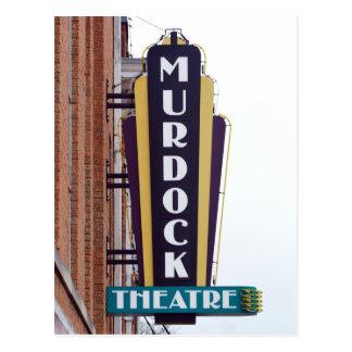 Cartão Postal Teatro de Murdock, Wichita, Kansas