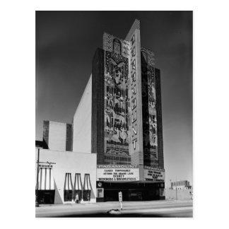 Cartão Postal Teatro de Paramount do art deco, Oakland, CA