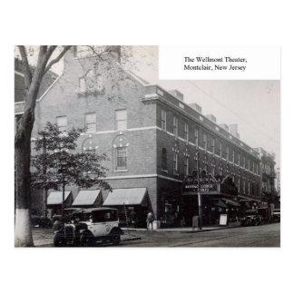 Cartão Postal Teatro de Wellmont, Montclair, New-jersey, vintage