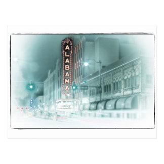 Cartão Postal Teatro histórico de Alabama em Birmingham, Alabama