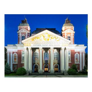Cartão Postal Teatro nacional de Ivan Vazov