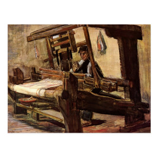 Cartão Postal Tecelão por Vincent van Gogh