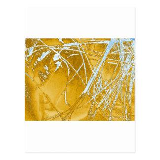 Cartão Postal tecido do cromo