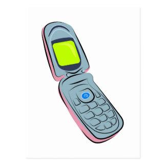 Cartão Postal Telefone móvel