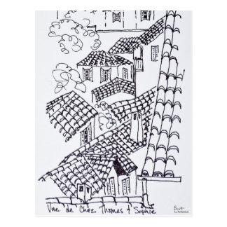 Cartão Postal Telhados de Marselha, France