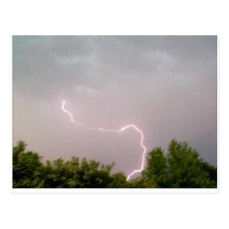 Cartão Postal Tempestade
