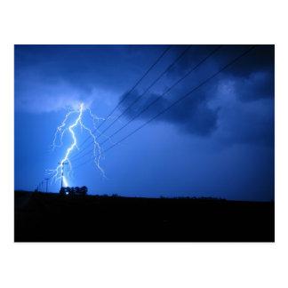 Cartão Postal tempestade de clinton