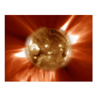 Cartão Postal Tempestade de Sun