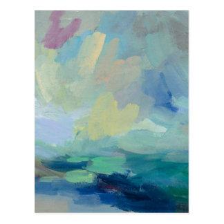 Cartão Postal Tempestade eu abstraio o impressão   Silvia