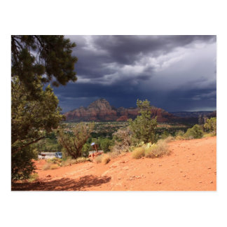 Cartão Postal Tempestade sobre o Vortex