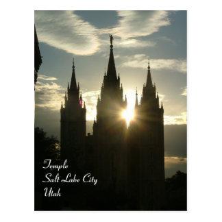 Cartão Postal Templo