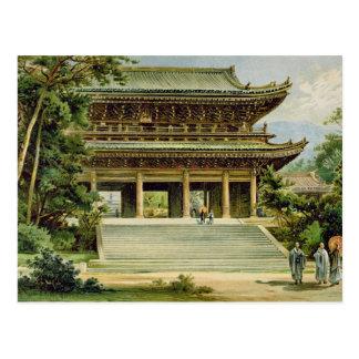 Cartão Postal Templo budista em Kyoto, Japão