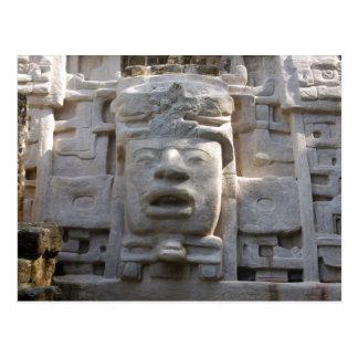 Cartão Postal Templo da máscara