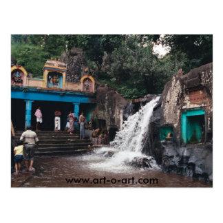 Cartão Postal Templo de Chola do indiano