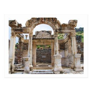 Cartão Postal Templo de Hadrian, Ephesus