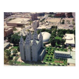 Cartão Postal Templo de Salt Lake LDS