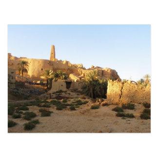 Cartão Postal Templo de Siwa de Amun - Oracle de Siwa
