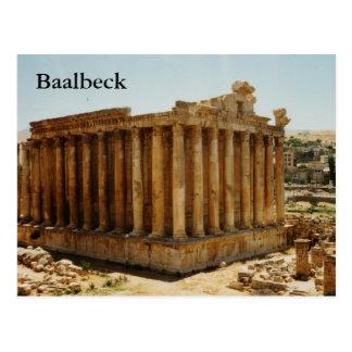 Cartão Postal Templo do Baco