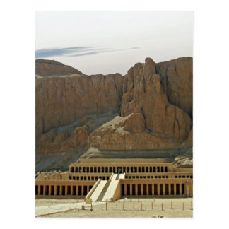 Cartão Postal templo do karnak