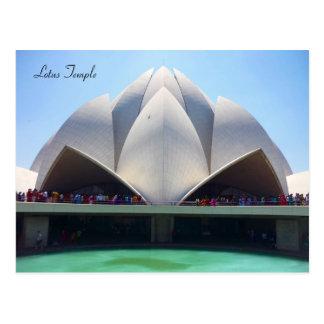 Cartão Postal templo dos lótus